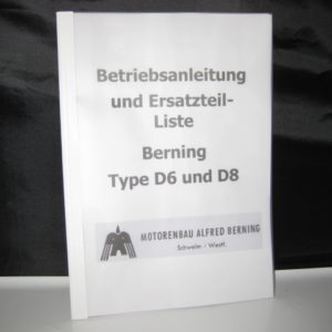 Ersatzteilliste Berning D6/D8 [en]